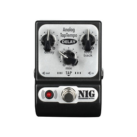 Pedal Nig Pocket Delay Analogico Taptempo (padt)
