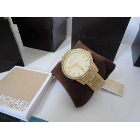 d1e50a5d9f3 Relogio Michael Kors Madreperola Modelo Mk 5255 - Relógios De Pulso ...