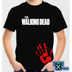 Playera O Camiseta Serie The Walking Dead Todas Las Tallas