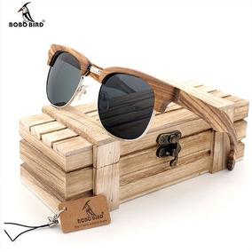 Óculos De Sol Armação De Madeira - Óculos no Mercado Livre Brasil 426a2e02bd