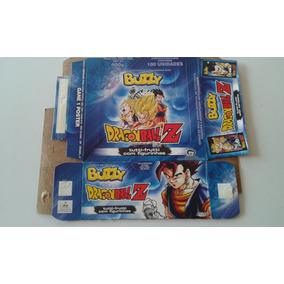 Caixa De Chicletes Vazia Buzzy Dragon Ball Z Ótimo Estado 2