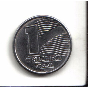 Moeda 1 Cruzeiro Antiga 1990
