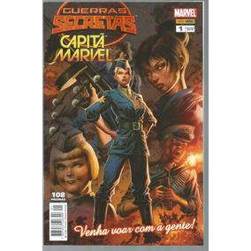 Guerras Secretas Capita Marvel 1 Panini - Bonellihq Cx34 D19