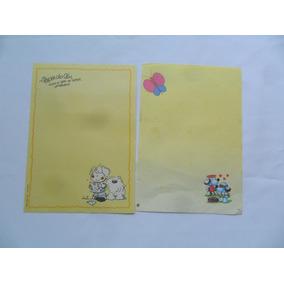 Papel De Carta Antigo Coleção Annie E Outro 2un