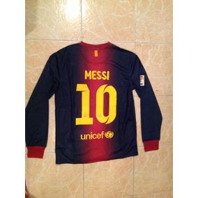 Sueter Del Barcelona De Messi Talla M..600 en Distrito Federal en ... 00cfe74e13a