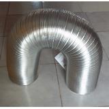 Ducto De Aluminio Flexible Extendible De 6pulg X 2.4mt
