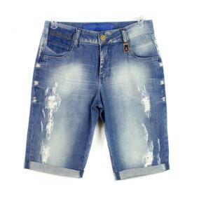 Bermuda Jeans Masculina Osmoze Destroyed 103.1.20843