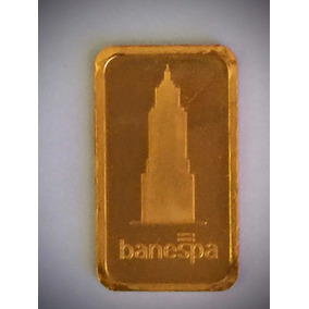Barra Ouro Puro-1000k-5gr. 22mm.