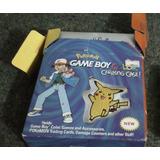 Pokemon Game Boy Color Nintendo Bolso Morral En Caja
