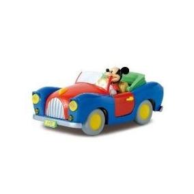 Miniatura Carro Mickey Escala 1/64 Die Cast Model - Yellow