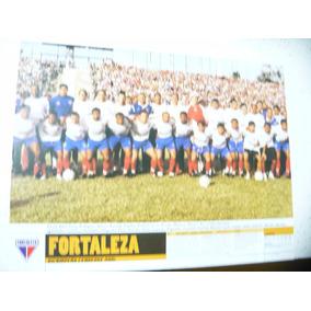 Mini Poster Fortaleza Bi Campeão Ceará 2001 Placar