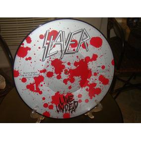 Slayer-live Undead Splatter Edition Picture Disc-leia!