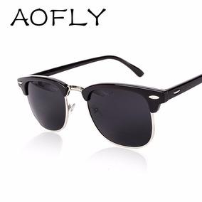 Aofly Classico Metal Oculos Homens Mulheres Oculos De Sol · R  39 90 d9cf78eb56