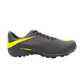 21a8213b5a Chuteira Nike Hypervenom Preto E Verde Limão - Chuteiras no Mercado ...