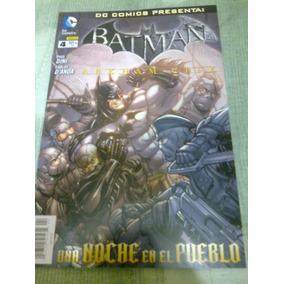 Batman # 4 Arkham City Dc Mexico Comic