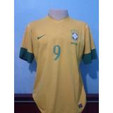 Camisa Seleção Brasileira Fred. 9 Pronta Entrega no Mercado Livre Brasil 9955f491283ad