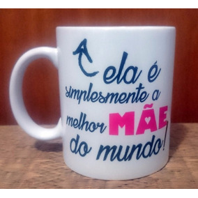 Caneca Personalizada Frases De Mãe Cozinha No Mercado Livre Brasil