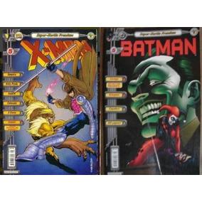Hq - X-men Nº 5 E Batman N° 5 - Super Heróis Premium