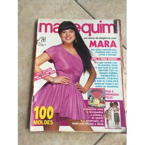Revista Manequim Mara Maravilha 100 Moldes Ano 1990