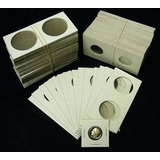 Lote De 400 Cartones Para Monedas Marca Bcw (made In Usa)