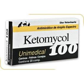 Antimicótico Para Caninos Y Felinos Ketomycol 100 Mg