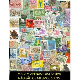 Lote Com 400 Selos Universais (50% Comemorativos)
