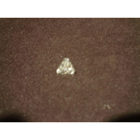 Magnifico Diamante Ruso Blanco, Corte Trillion De 8x8 Mm