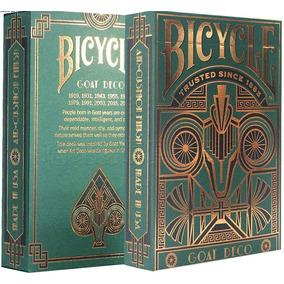 Baralho Bicycle Goat Deco E Limitada Original Importado Ouro