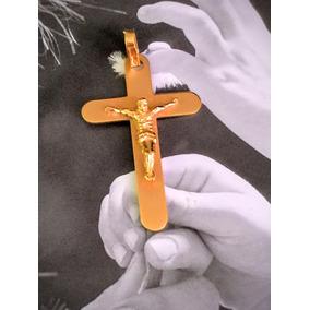 Pingente Cruz Em Ouro 18 K