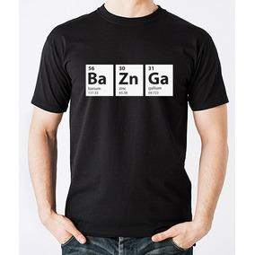 Playera Hombre Big Bang Theory Bazinga Element Varias Tallas