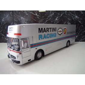 Mercedez-bens O317 Martini Racing 1:18 Schuco Cinza