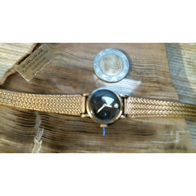 Reloj Omega Con Caja De Oro Clásico Mujer Cuerda Diamante