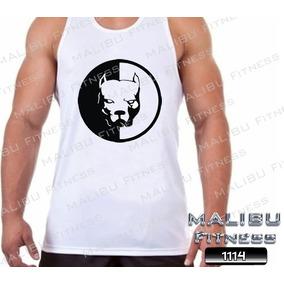 Camiseta Regata Academia Pit Bull Musculação Maromba 20392bea76c