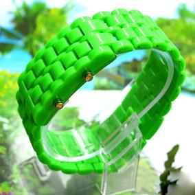 Reloj Digital Led Estilo Lava Samurai Colores Disponibles