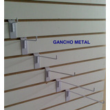 Gancho Blister Panel Ranurado Exhibipanel