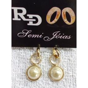 7316804ae4a Brinco Folheado A Ouro Replica - Joias e Relógios no Mercado Livre ...