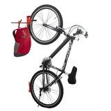 Suporte De Bicicleta Na Vertical Para Parede Bike Holder Smf