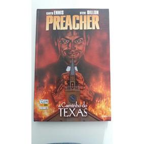 Preacher Vertigo Panini Volume 1 A Caminho Do Texas