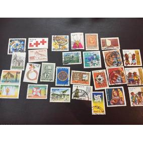 Selos Lote 45 Selos Brasil Anos 70 E 80 Novos E Usados