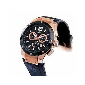 Reloj Original Caballero Suizo Basel Acero Cronograph Fecha