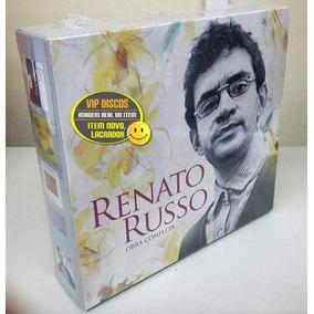 Box Renato Russo Obra Completa 5 Cds Legião Urbana Lacrado