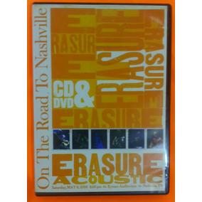 Erasure Cd/dvd-acoustic- On The Road To Nashville