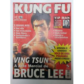 Bruce Lee Revista Kung Fu, Aprenda O Soco De Uma Polegada