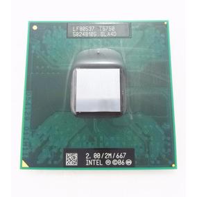 Processador Notebook Intel Core 2 Duo T5750 Sla4d 2.00 2 667
