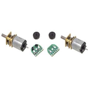 Micro Motorreductor Hpcb Pololu Con Eje Extendido Y Encoder