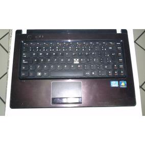 Peças Lenovo G470, G475, Botão Power+cabo Flat Mouse