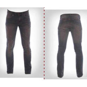 Jean Slim Fit Matizado Interior Cuadros Panther (15134)