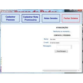 Sistema Emite Notas Promissórias Automaticamente Banco Dados
