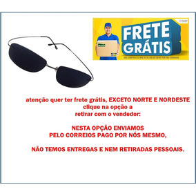85eeb9c031215 Oculos De Sol Original Armaçao Em Titanio Masculino Feminino ...