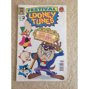 Gibi Festival Looney Tunes Número 2 Taz Patolino Gaguinho